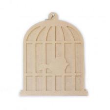 Album oiseau en cage