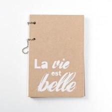 Album sérigraphié «La vie est belle»