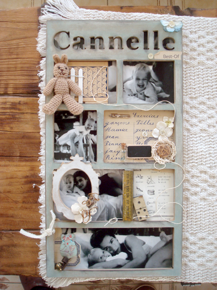 Tuto d co cadre personnalis pause cr ative for Tuto home deco tableau