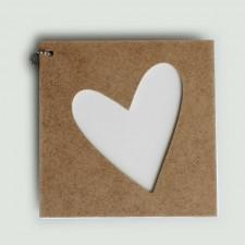 Album bois Coeur