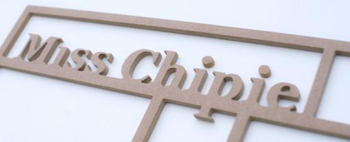 Cadre multicases «Miss Chipie»