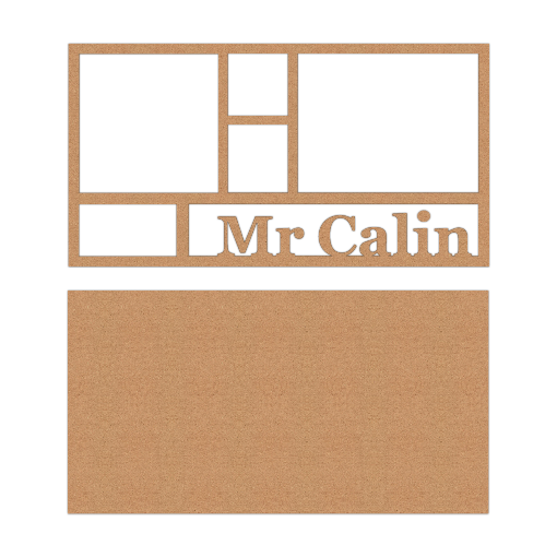 Cadre multicases « Mr Calin »