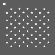 Mini pochoir petites étoiles